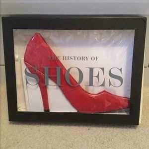 Other - BNWOT The HIstory of Shoes by Michelle Brachet
